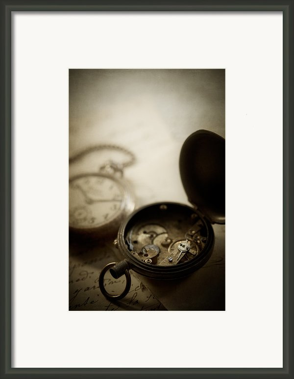 Somewhere In Time Framed Print By Amy Weiss