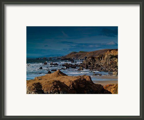 Sonoma Coast Framed Print By Bill Gallagher