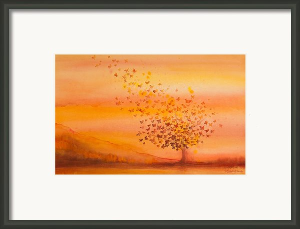 Soul Freedom Watercolor Painting Framed Print By Michelle Wiarda