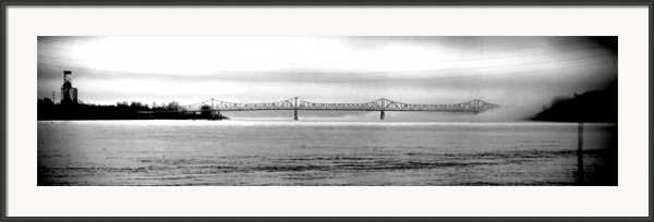 South Of The Bridge Framed Print By Max Mullins