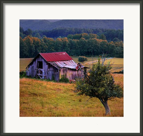Southern Belle - Wears Valley Framed Print By Thomas Schoeller