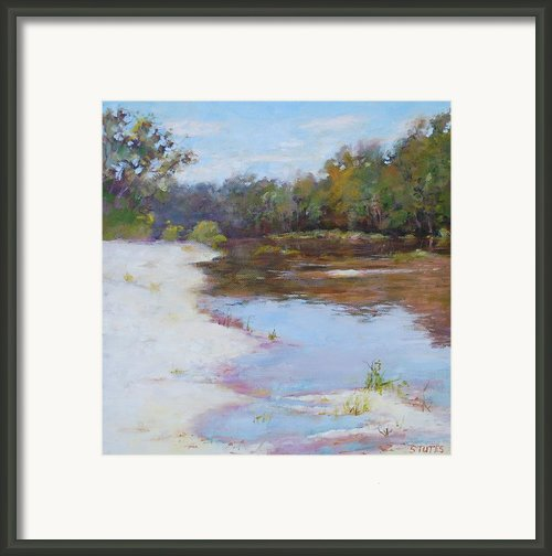 Southern River Framed Print By Nancy Stutes