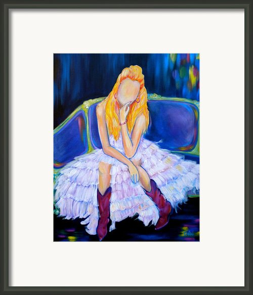 Southern Sass Framed Print By Debi Pople