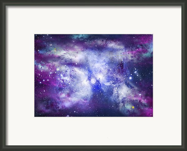 Space009 Framed Print By Svetlana Sewell