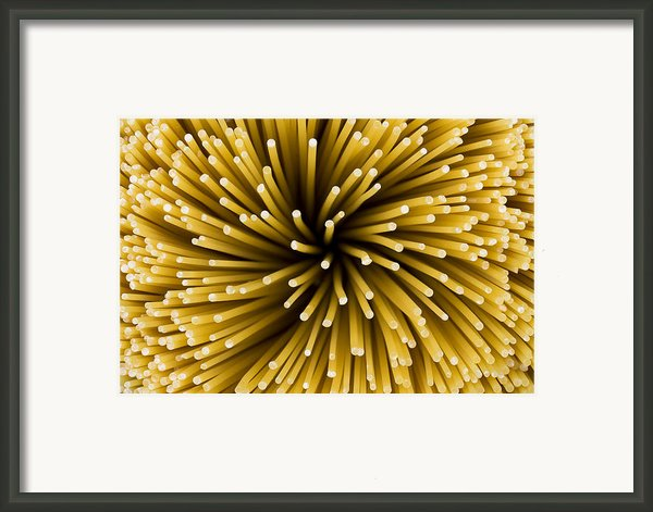 Spaghetti Noodles Framed Print By Joe Belanger
