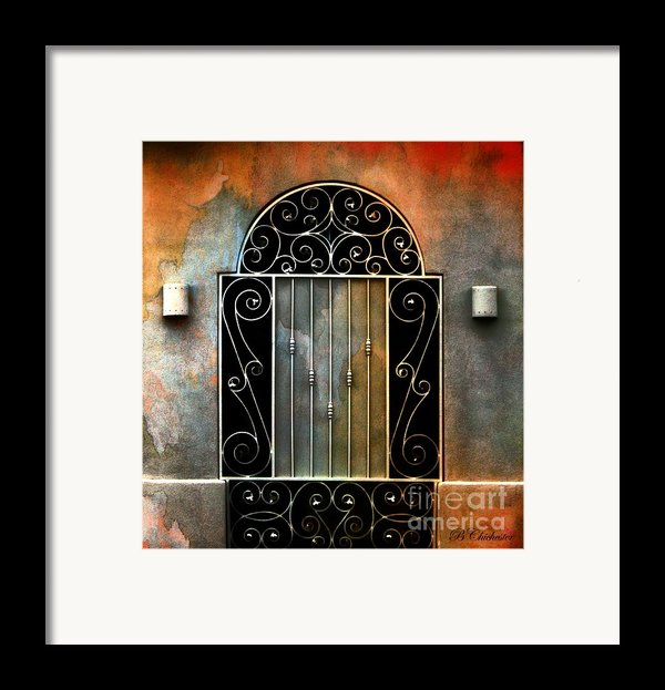 Spanish Influence Framed Print By Barbara Chichester