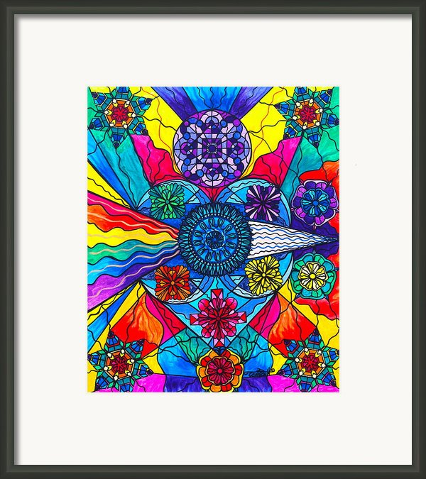 Speak From The Heart Framed Print By Teal Eye  Print Store