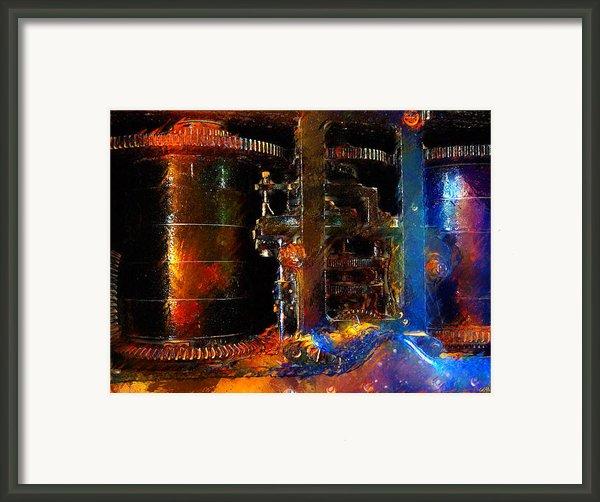 Spindle Framed Print By Carl Rolfe