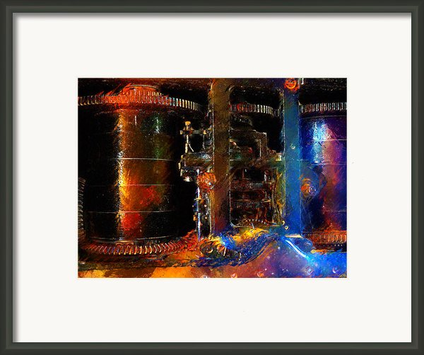 Spindle Framed Print By Carl Rolfe