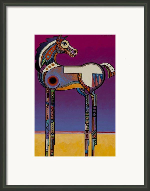 Spirit Horse Framed Print By Bob Coonts