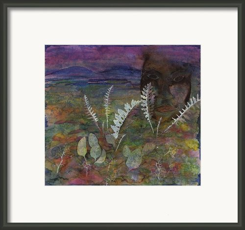 Spirit On The Tundra Framed Print By Carolyn Doe