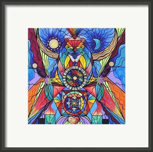 Spiritual Guide Framed Print By Teal Eye  Print Store