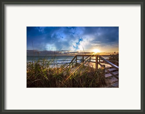 Spiritual Renewal Framed Print By Debra And Dave Vanderlaan