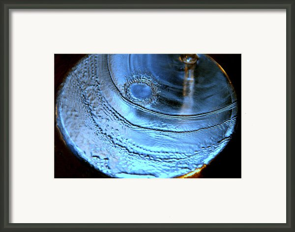 Splash Framed Print By Kathleen Peltomaa Lewis