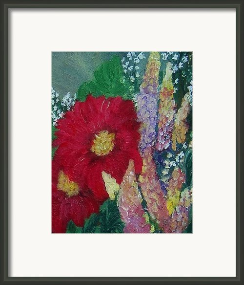Splender Framed Print By Mj Deen