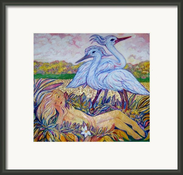 Splendor In The Grass  2 Framed Print By Gunter  Hortz