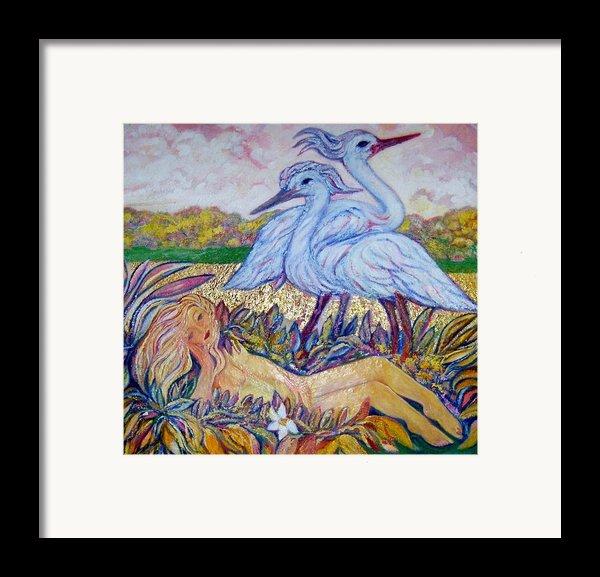 Splendor In The Grass  2 Framed Print By Gunter  Hortz
