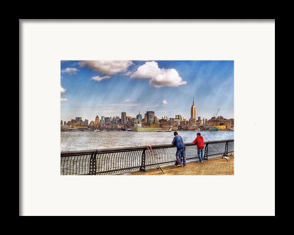 Sport - Fishing Framed Print By Mike Savad