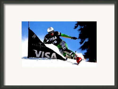 Sports  Framed Print By Lanjee Chee