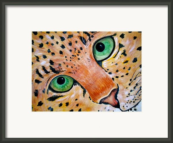 Spotted Framed Print By Debi Starr