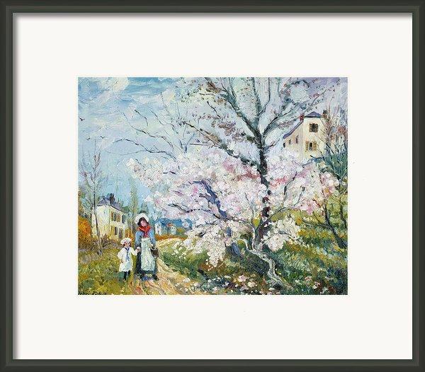 Spring Blossom Framed Print By Henri Richet