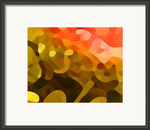 Spring Day Framed Print By Amy Vangsgard