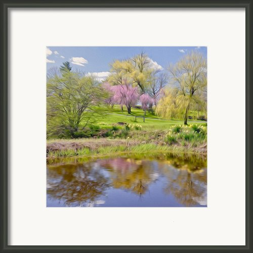 Spring Day Framed Print By Bill  Wakeley