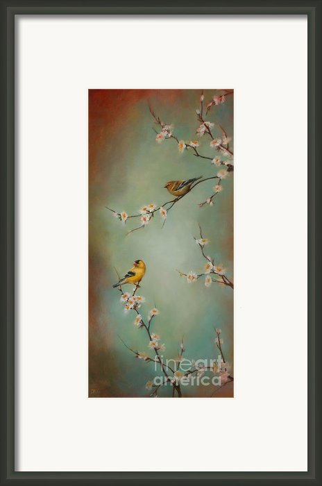 Spring Dream Framed Print By Lori  Mcnee
