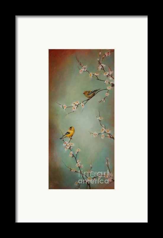 Spring Dream Framed Print By Lori  Mcnee