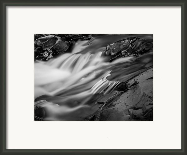 Spring Flow Framed Print By Mary Amerman