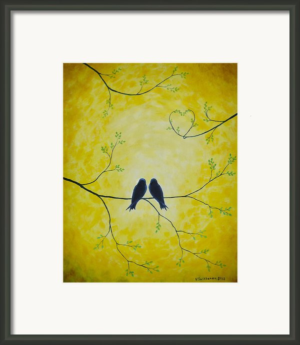 Spring Is A Time Of Love Framed Print By Veikko Suikkanen