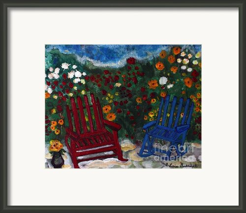 Spring Memories Framed Print By Louise Burkhardt