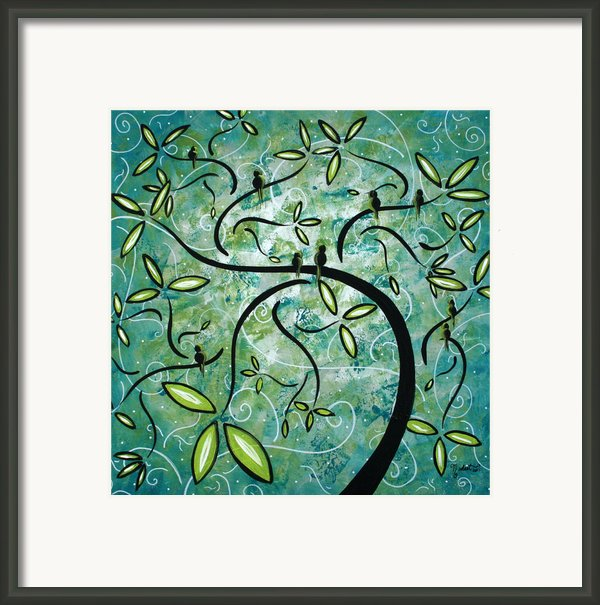 Spring Shine By Madart Framed Print By Megan Duncanson