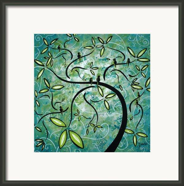 Spring Shine By Madart Framed Print By Megan Duncanson