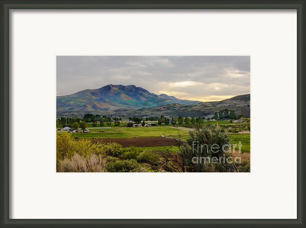 Spring Time In The Valley Framed Print By Robert Bales