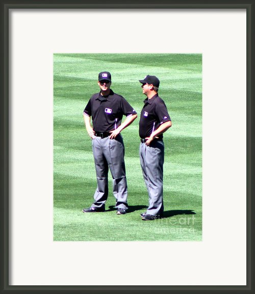 Spring Training 12-4-13 Framed Print By Pamela Walrath