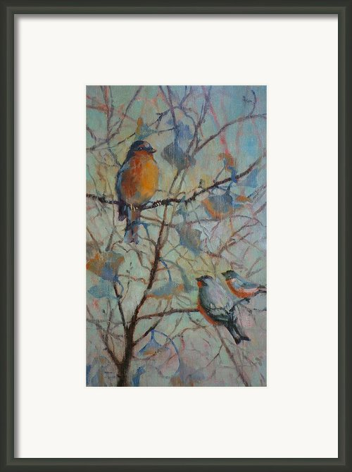 Spring Verse Framed Print By Donna Shortt