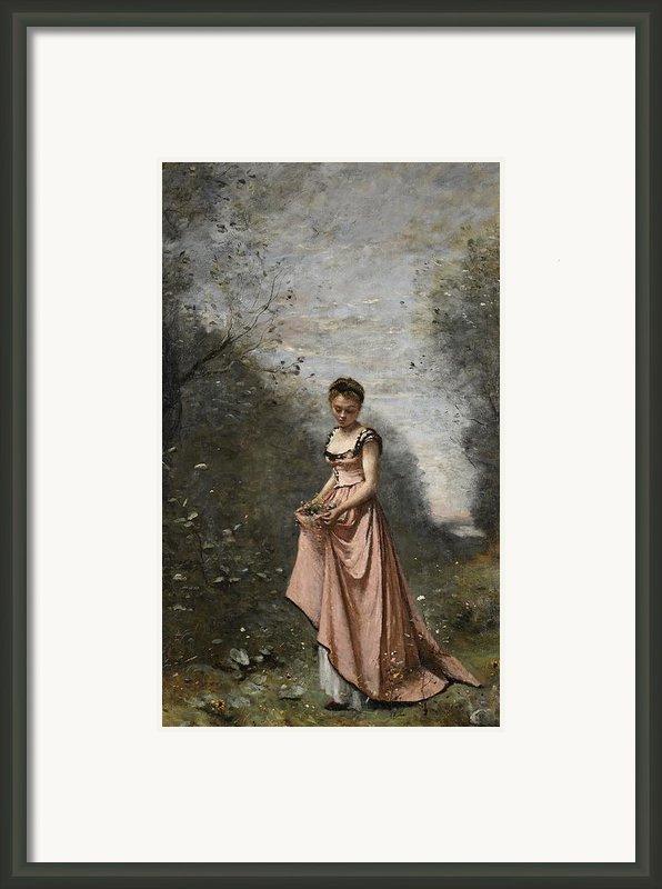 Springtime Of Life Framed Print By Jean Baptiste Camille Corot