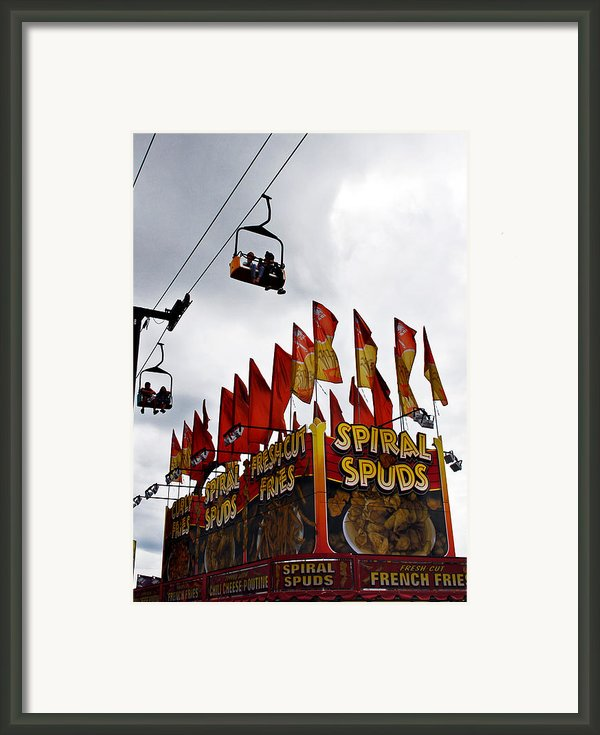 Spuds Framed Print By Skip Willits