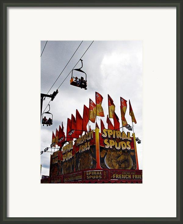 Spuds Framed Print By Skip Willits
