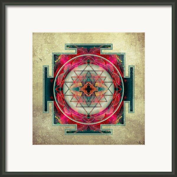 Sri Yantra  Framed Print By Filippo B