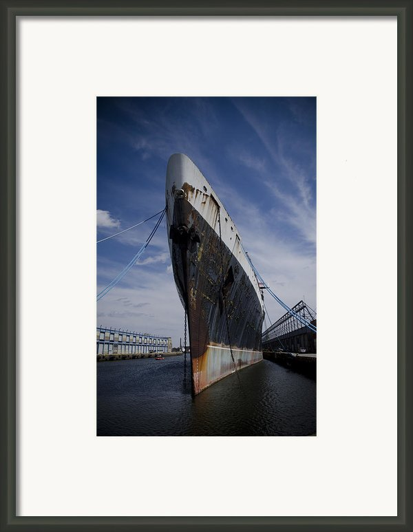 Ss United States By Jessica Berlin Framed Print By Jessica Berlin