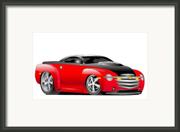 Ssr Toon Framed Print By Lyle Brown