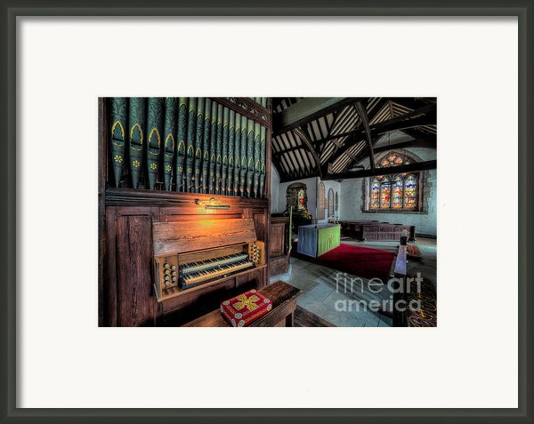 St Digains Church Framed Print By Adrian Evans