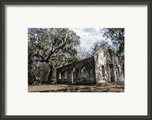St Helena Chapel Of Ease 1  Framed Print By Steven  Taylor