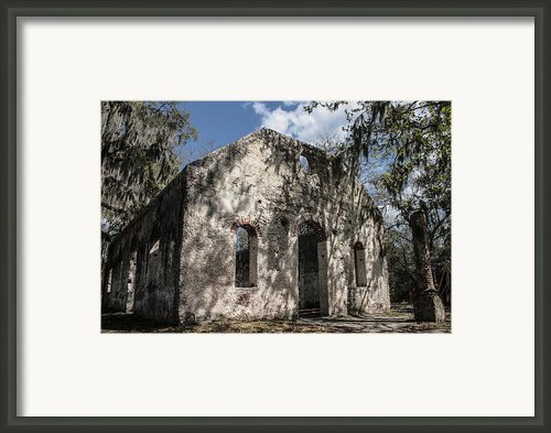 St Helena Chapel Of Ease 2 Framed Print By Steven  Taylor