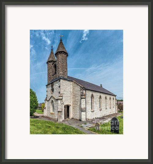 St Michael Church Framed Print By Adrian Evans