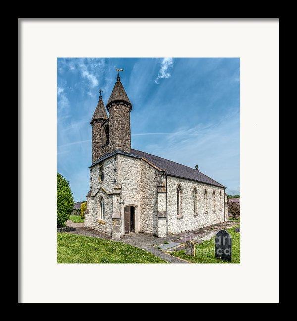 St Michael Church Framed Print By Adrian Evans