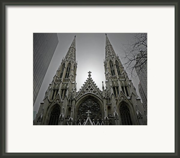 St. Patricks Cathedral  Framed Print By Angela Wright