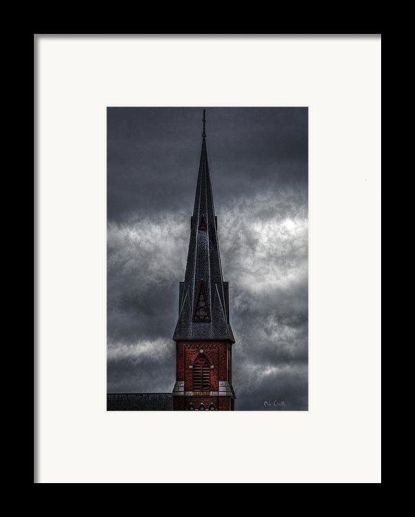 St. Patricks Spire  Framed Print By Bob Orsillo